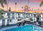 Saharan Motor Hotel West Sunset Boulevard LA USA - United States